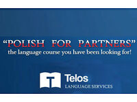 NEW Polish for Partners Language Course starts Tuesday 28th February!