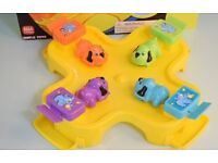 Zelf, rescue bots, hungry hippo game, CD player, alarm clock, disney bath toys, hats & more £1