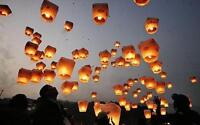 Sky or Wishing lanterns