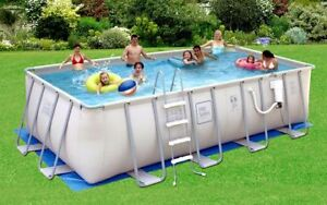 52- inch Deep Above Ground Pool !! 18ft X 9ft