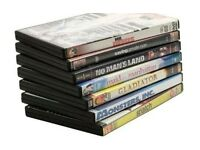 NEW DVDS 100 IN TOTAL FOR ONLY £10