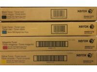 Xerox Dc700/700i/J75/C75 Toner Set PartNumber:006R01375/76/77/78