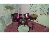 Yasmine 5 piece junior drum kit