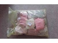 Bundle ofbaby girl clothes Newborn 0-3