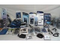 Job Lot Of Mixed Mobile Phone Cases, Chargers & More