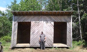 Horse shed for sale