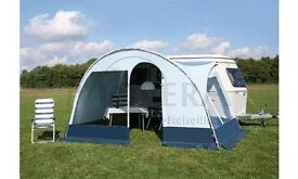 """FULL CANOPY/AWNING """"VISION"""" (Eriba special fit) FOR TRITON 418 (Post 2010)"""