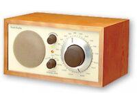 TIVOLI Audio Model One Table AM/FM iPod Radio - Walnut/Beige - Henry Kloss - High End