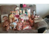 Reborn doll parts and accessories