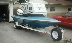 2001 checkmate speed boat trade for atv