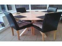 Immaculate Tabke and Chairs