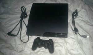 PS3 with 6 games and a controller