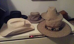 collection de chapeaux