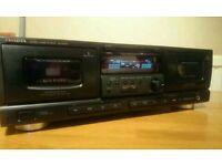 AIWA AD-WX727 twin cassette deck