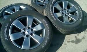 20 inch OEM ford rims with tires