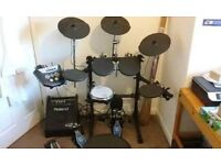 Roland TD6-V electric drum kit + all accessories
