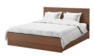 IKEA Malm Bed with Storage and Mattress (Double/Full)