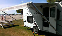 Truck Camper, Popup, Travel Trailer Rental, AC Washroom Heat