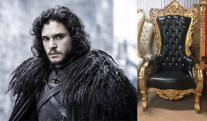 King Snow Throne Chair (GAME OF THRONES John Snow Inspired)