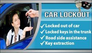 ASAP car lockout door open.