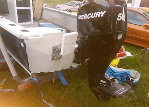 Mercury  50 hp 4 stroke Efi outboard  motor  2010, 82 hours St Marys Penrith Area Preview