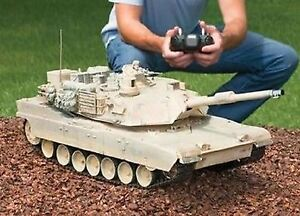 RC Tank M1A2 Abrams USA Airsoft Tank Toy 16