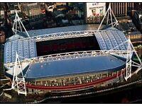 DEBENTURES X 2 - PRINCIPALITY STADIUM - WRU - +WALES v ENGLAND!!!!!