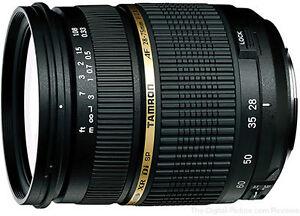 Tamron AF 28-75mm f/2.8 SP XR Di LD Aspherical pour Canon