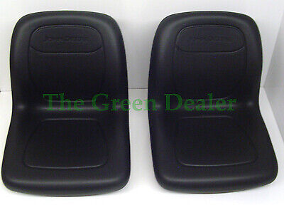 John Deere Gator High Back Black Deluxe Seat Set Vg12160