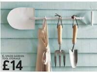 Spade Garden Tool Storage
