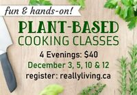 Green Cuisine: Plant Based Cooking Classes