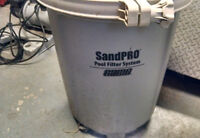 SandPRO Sand Filter 75 with HP Pump