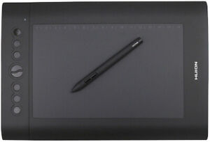 Huion H610 Pro Graphic Drawing Tablet in original box