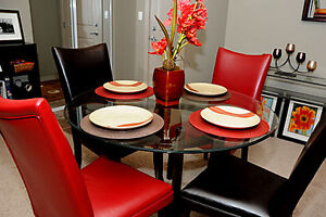 Professionally Designed Furnished Large 2 Bedroom Condo for Rent