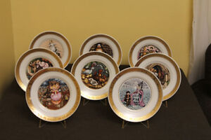 Hans Christian Andersen Collector plates