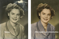 Photo restoration, enhancement and repair