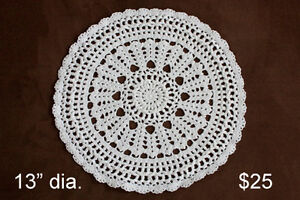 Various Crocheted Items