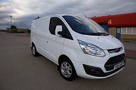 64 Ford Transit Custom, with alloy wheels, heated seats, heated windscreen,electric folding mirrors