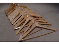 Wooden hangers - sturdy, quality make