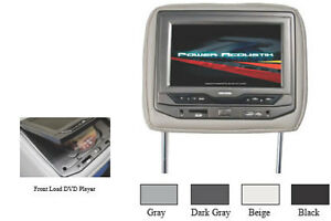 "DVD Headrest with Built-in DVD Player and 7"" TFT-LCD Monitor"