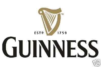 """Guinness Vinyl Sticker Decal 18"""""""