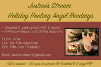 Holiday Healing Angel Readings