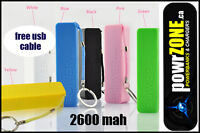 POWERBANK FOR YOUR PHONE, IPOD DEVICES