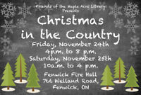 Christmas in the Country Exhibitors Wanted