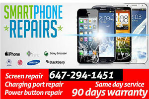 Samsung and iPhone repair .. Professional Service with Warranty