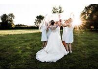 Half price wedding photography until April!