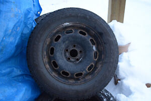 Snow tires – studded