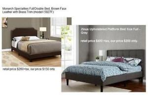 *New* Brand Name Full/Double Bed, Faux Leather / Micro Fibre Fabric / Upholstered Sale