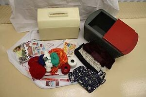 Online Auction Sale with Sewing Kit and Yarn!