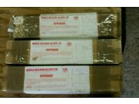 Welding Rods three 5kg boxes